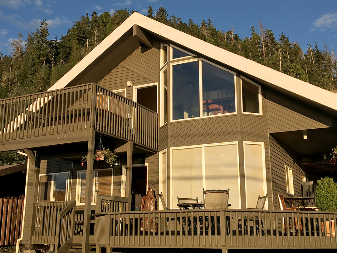 Sitka fishing lodge